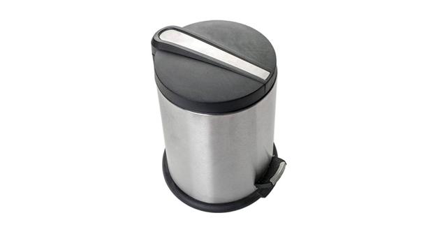 Πεντάλ Inox με πλαστικό καπάκι